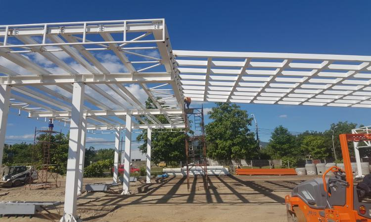 Canopy Steel Construction